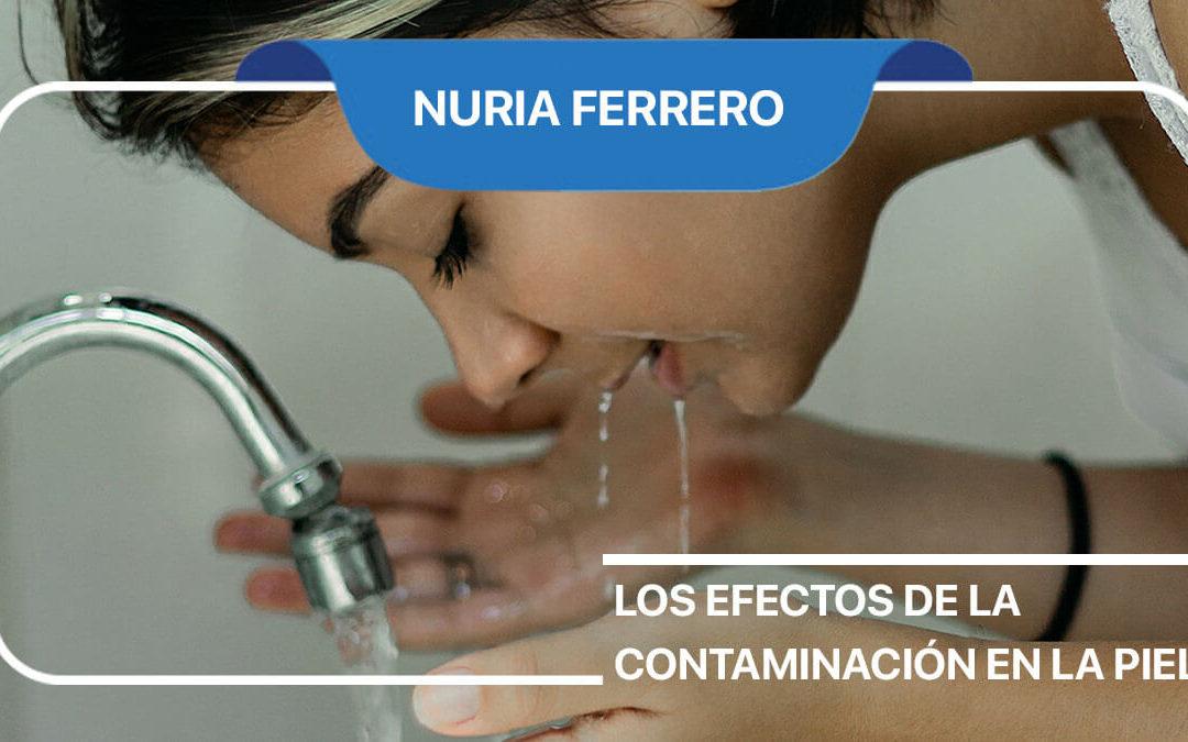 Los efectos de la contaminación en la piel